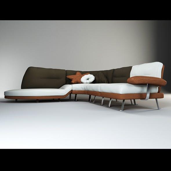 Quality 3dmodel of modern sofa Lord. IL Loft