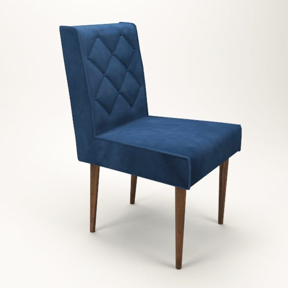 simple upholstered chair