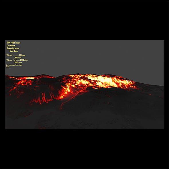 volcano 6 - 3DOcean Item for Sale