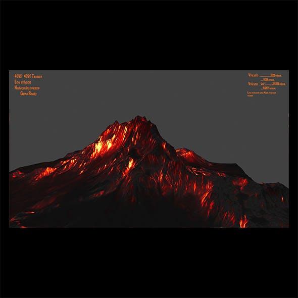 Volcano 3 - 3DOcean Item for Sale