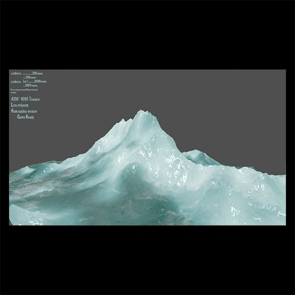 ice 3 - 3DOcean Item for Sale