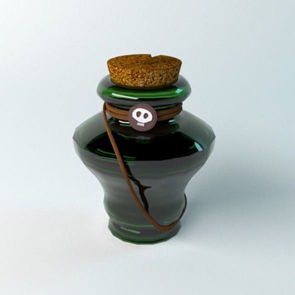 Potion of Poison - 3DOcean Item for Sale