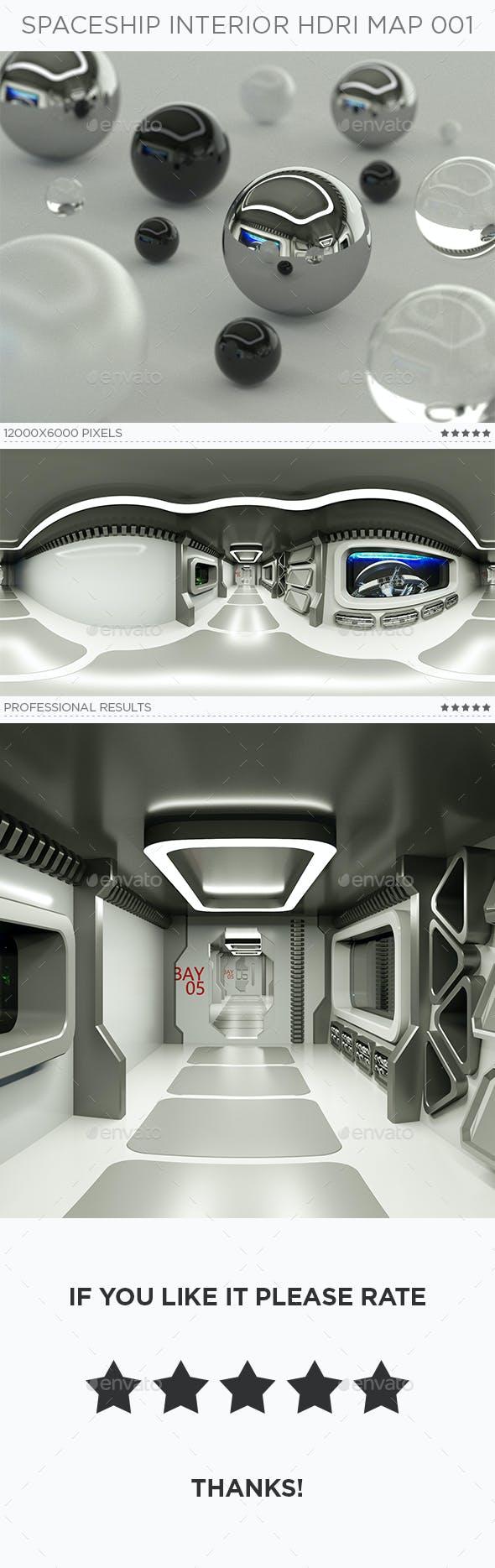 Spaceship Interior HDRi Map 001 - 3DOcean Item for Sale