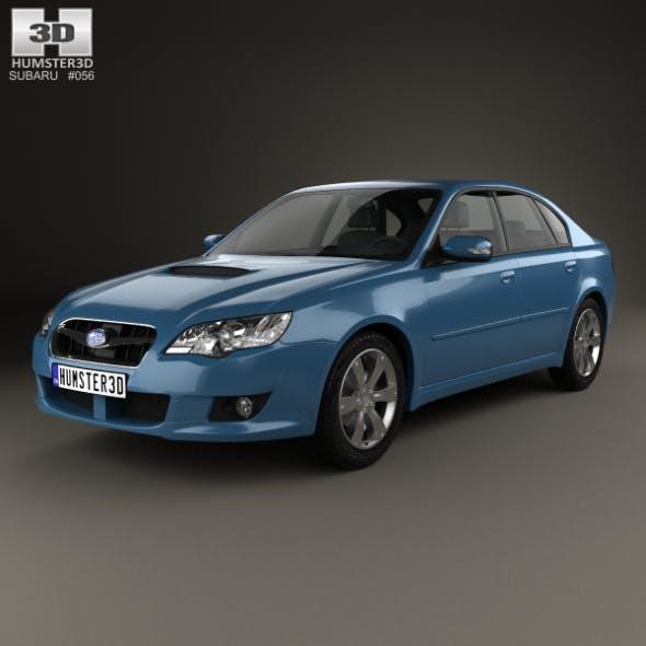 Subaru Legacy 2008 - 3DOcean Item for Sale