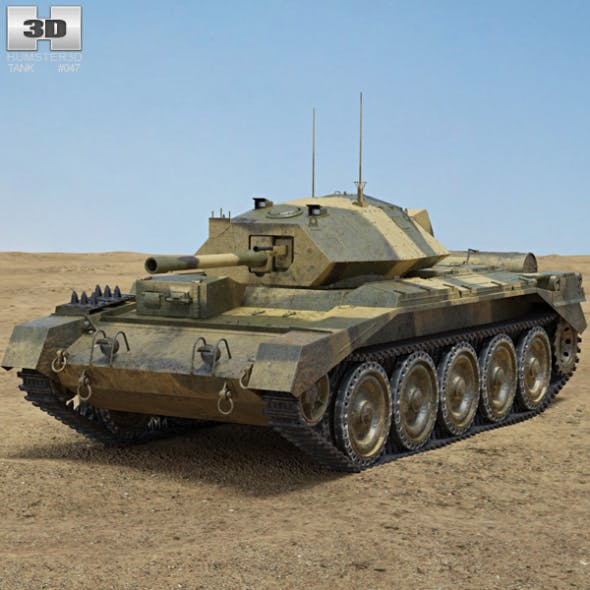 Crusader Mk III - 3DOcean Item for Sale