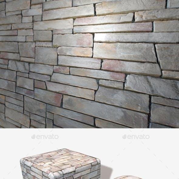 60's Style Rock Wall Seamless