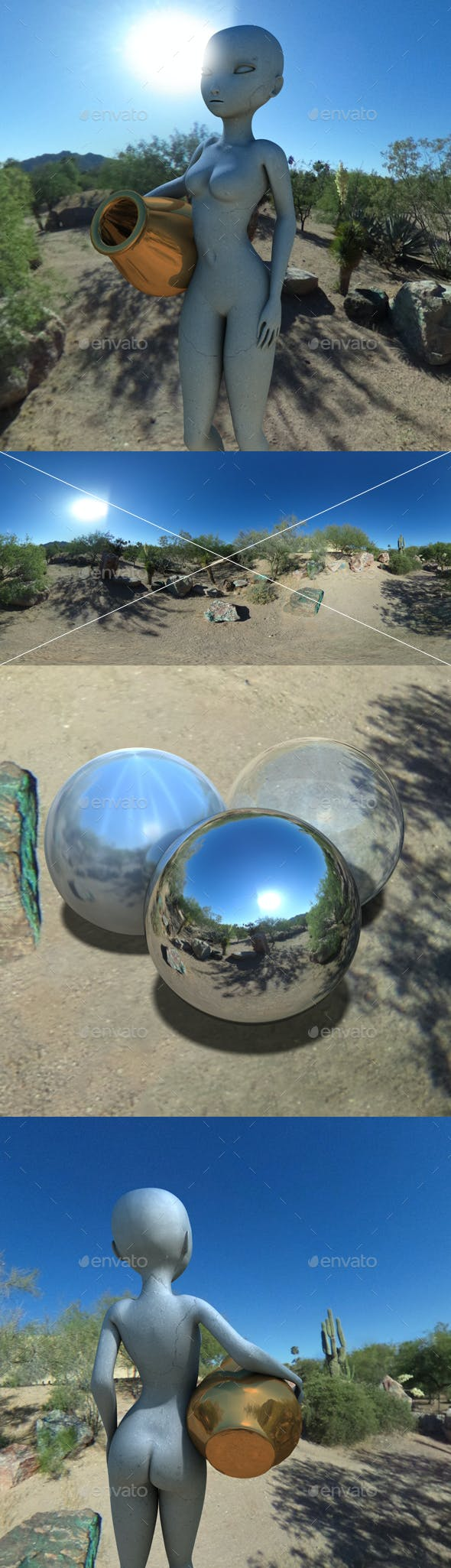 Painted Desert Arizona HDRI - 3DOcean Item for Sale