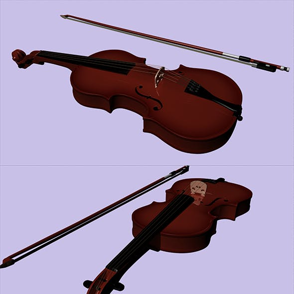 Strings 3D Musical Instrument Models from 3DOcean