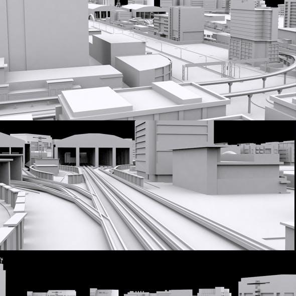 City Rail Depot Area