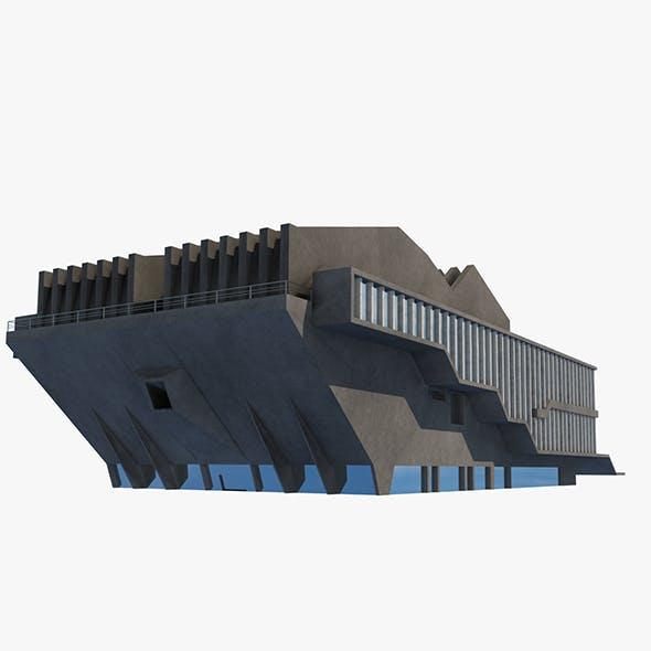 Soviet Building Angular - 3DOcean Item for Sale