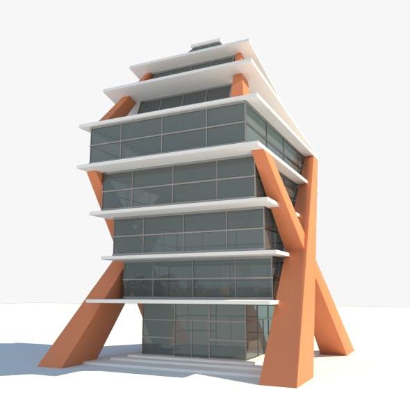 Air Art Glass Building