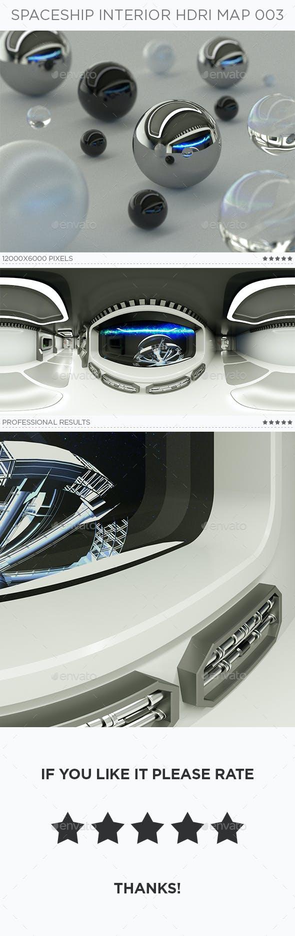 Spaceship Interior HDRi Map 003 - 3DOcean Item for Sale