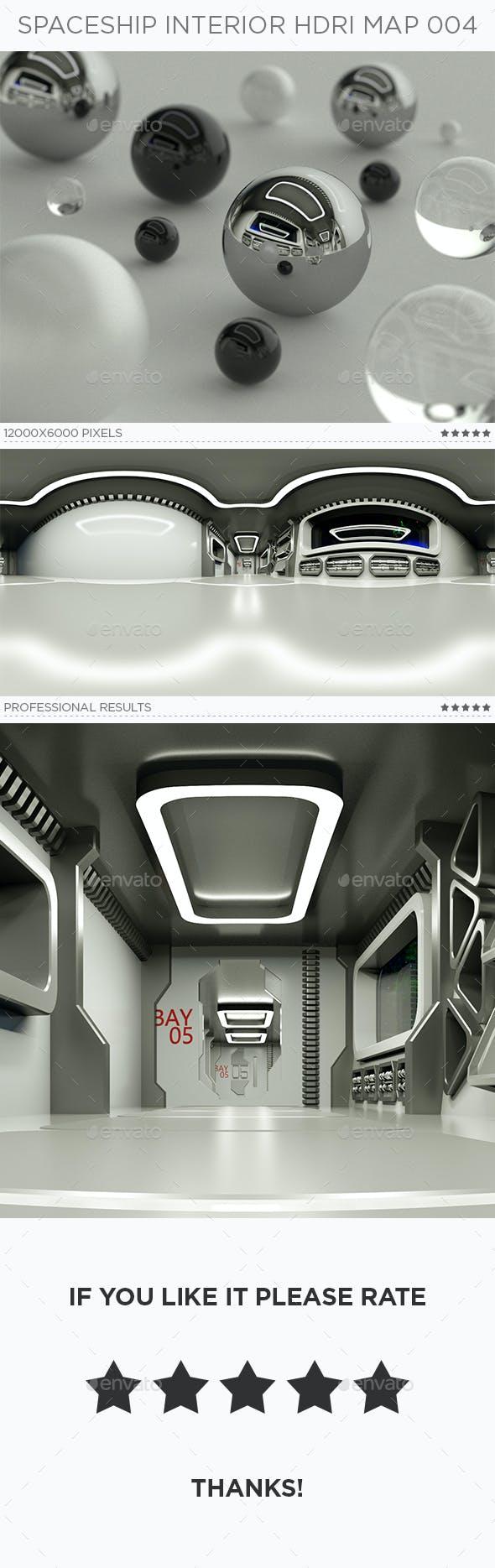 Spaceship Interior HDRi Map 004 - 3DOcean Item for Sale