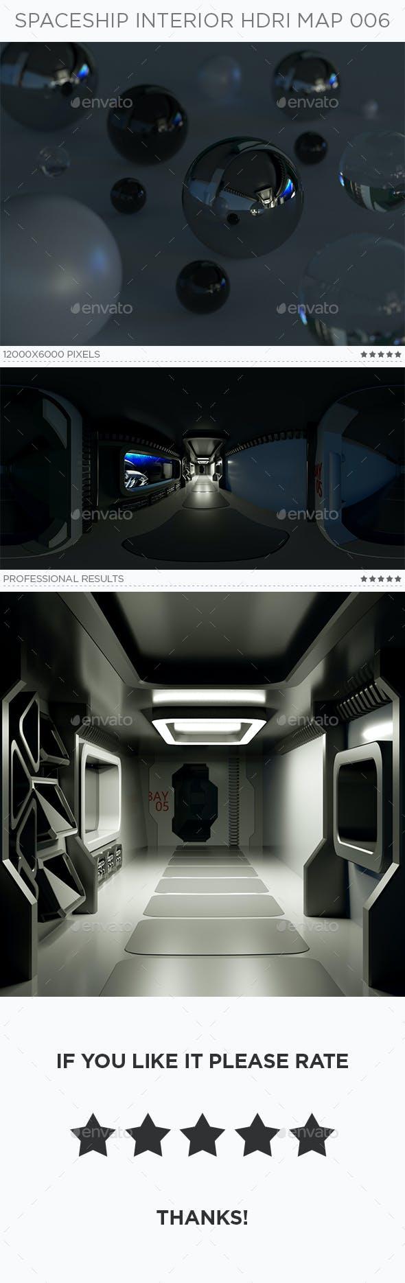 Spaceship Interior HDRi Map 006 - 3DOcean Item for Sale