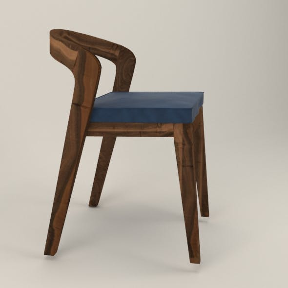 Scandinavian chair - 3DOcean Item for Sale