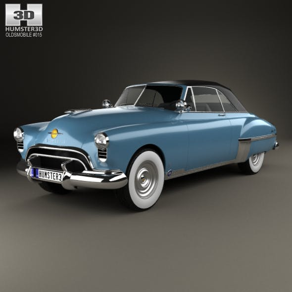 Oldsmobile 88 Futuramic Convertible 1949 - 3DOcean Item for Sale