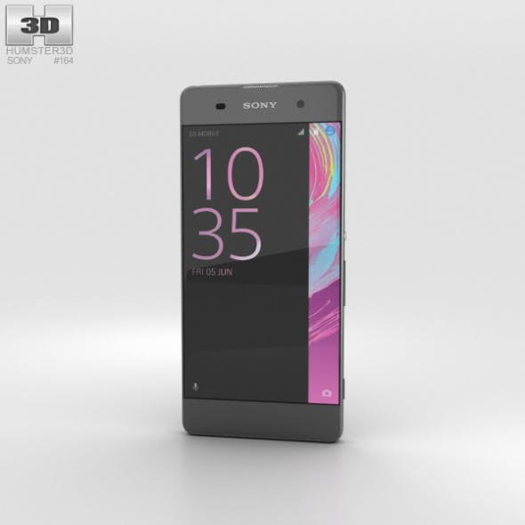 Sony Xperia XA Graphite Black - 3DOcean Item for Sale