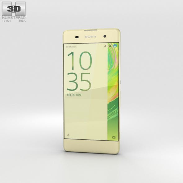 Sony Xperia XA Lime Gold - 3DOcean Item for Sale