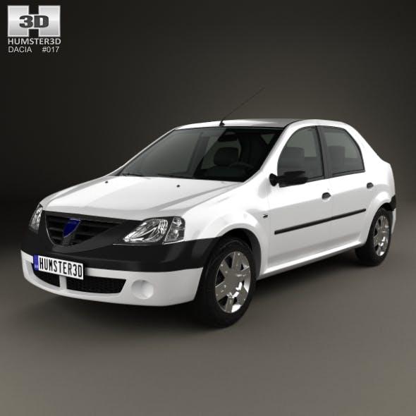 Dacia Logan 2004 - 3DOcean Item for Sale