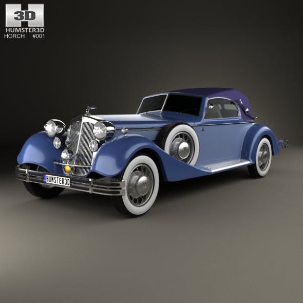 Horch 853 A Sport Cabriolet 1935