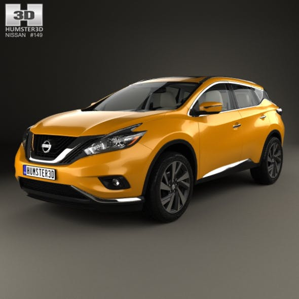 Nissan Murano (Z52) with HQ interior 2014 - 3DOcean Item for Sale