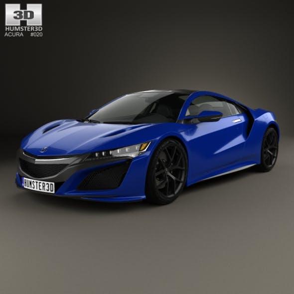 Acura NSX 2016 - 3DOcean Item for Sale