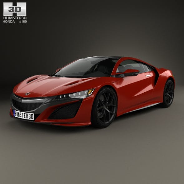 Honda NSX 2016 - 3DOcean Item for Sale