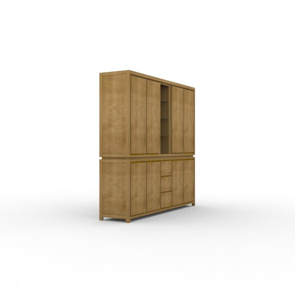 Wooden Wardrobe 2 - 3DOcean Item for Sale