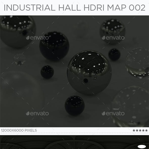 Industrial Hall HDRi Map 002