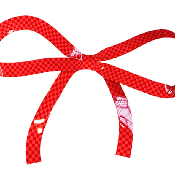 Ribbon Bow 002