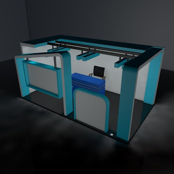 Exhibition Stall - 3DOcean Item for Sale