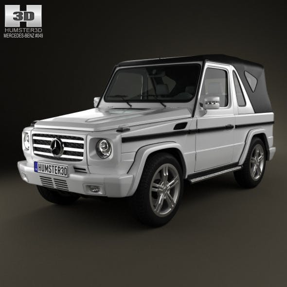 Mercedes-Benz G-Class Cabriolet 3-door 2011 - 3DOcean Item for Sale