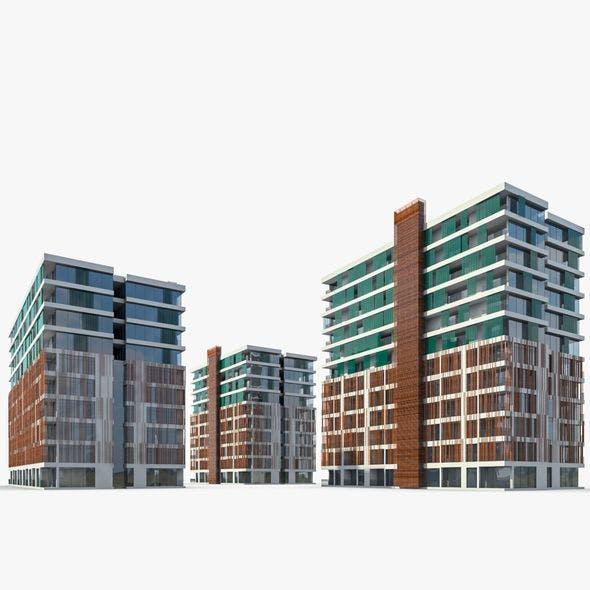 Apartment Buildings 01
