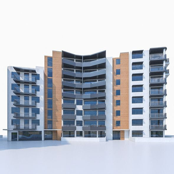 Apartment Buildings 04