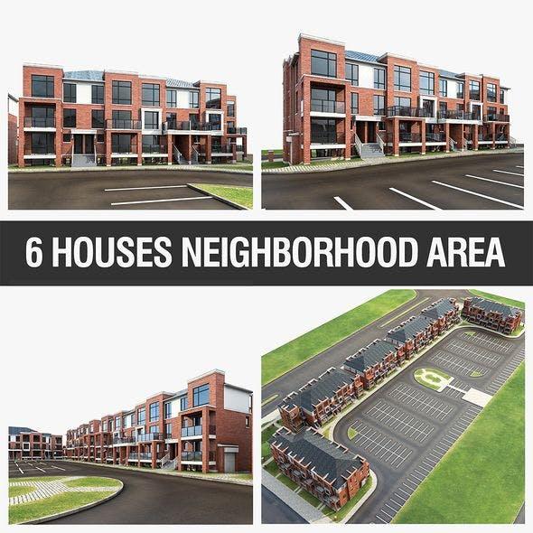 Apartment Complex - 3DOcean Item for Sale