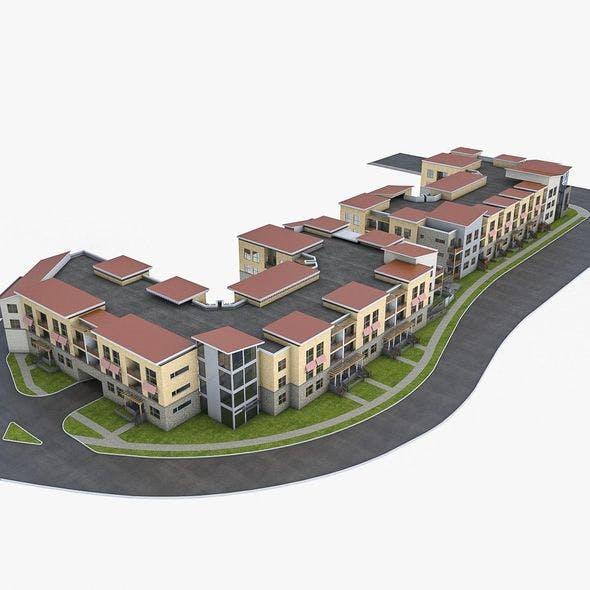 Apartment Complex 02
