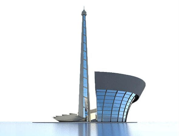 Baku Stadium - 3DOcean Item for Sale