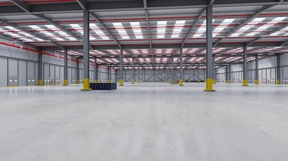 Industrial Building Interior 7 - 3DOcean Item for Sale