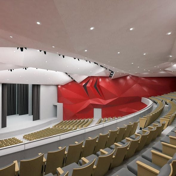 Concert Hall Interior 01
