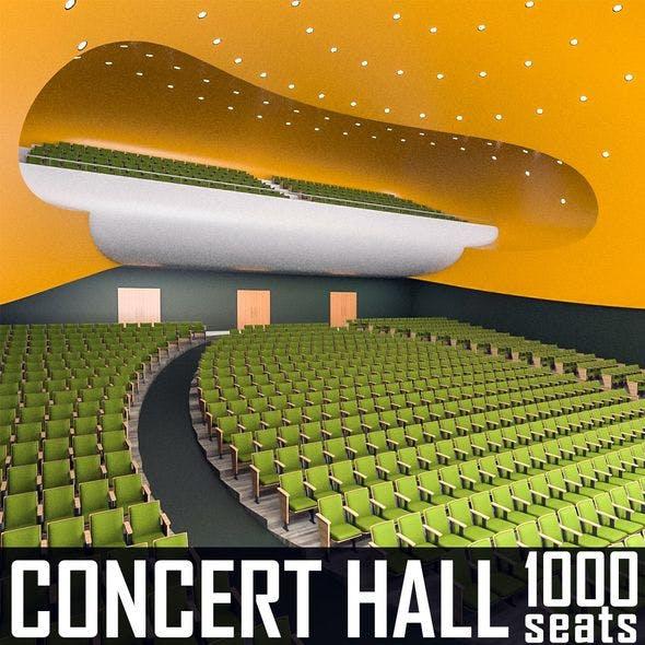 Concert Hall Interior 02 - 3DOcean Item for Sale