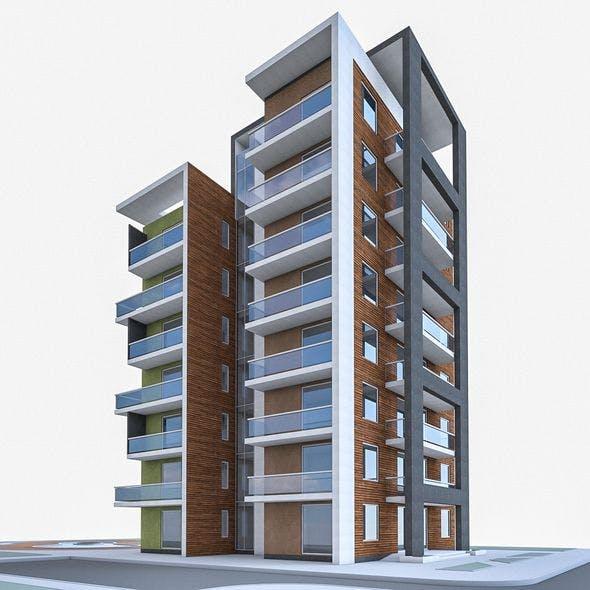 Condominium 01 - 3DOcean Item for Sale