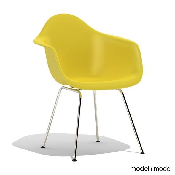 Eames Plastic Armchair DAX - 3DOcean Item for Sale
