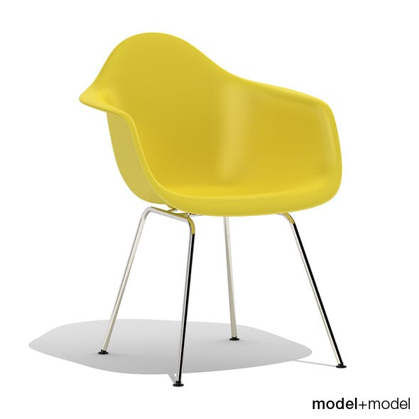 Eames Plastic Armchair DAX