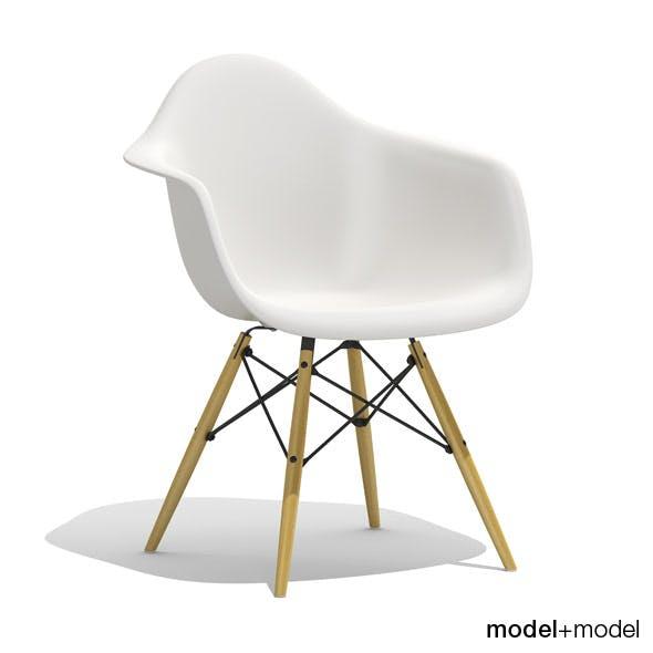 Eames Plastic Armchair DAW - 3DOcean Item for Sale