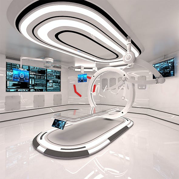 Sci Fi Medical Laboratory