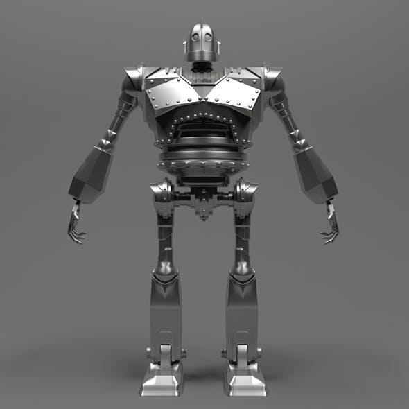 Iron Giant robot model