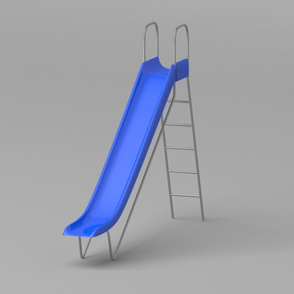 Playground Slide - 3DOcean Item for Sale