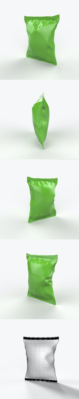 Food packaging v.3 - 3DOcean Item for Sale