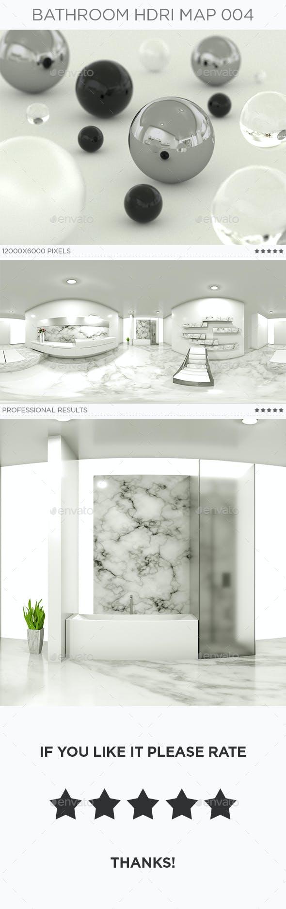 Bathroom HDRi Map 004 - 3DOcean Item for Sale