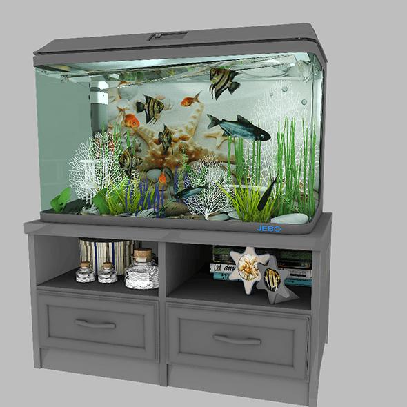 Aquarium 1 - 3DOcean Item for Sale